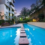 Top floor North facing 1 bedroom in Landmark building